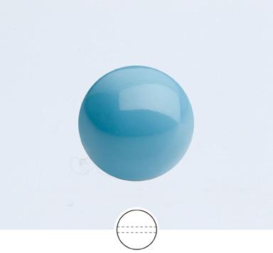 Preciosa 10 mm Nacre Pearl Round