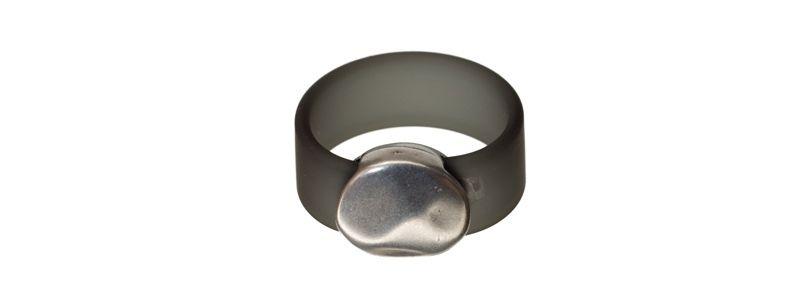Ring Kreis Grau