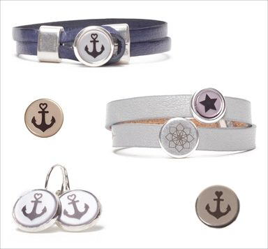 DIY Anleitung Armbänder mit bedruckten Cabochons