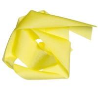 Lycra-Band, Breite 30 mm, Länge 1 m, dehnbar, gelb