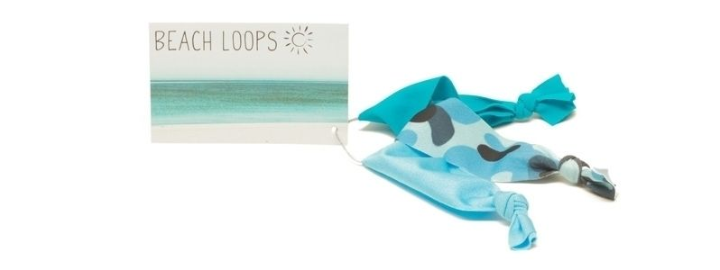 Beach Loops Cyan-Mix