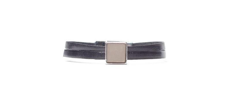 Armband mit viereckigem Polaris Cabochon