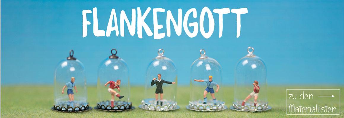 Fußball Schmuck mit Glaskugeln