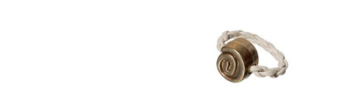 """Ring """"Bronze-Schnecke"""""""