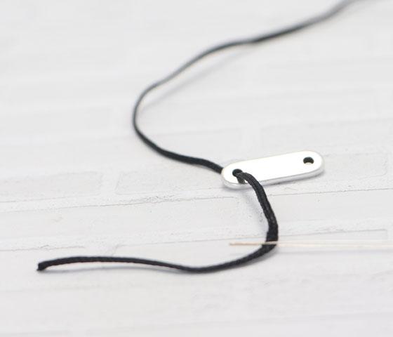 Armband mit Schiebeverschluss machen Schritt 2