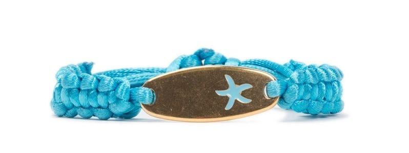 Makramee-Armband Seestern