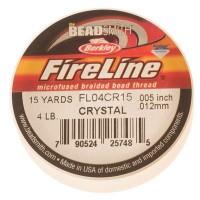Fireline, Durchmeser 0,12 mm, Länge 13,7 m (15 Yard) , crystal