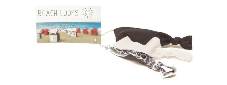Beach Loops Schwarz-Weiß-Mix