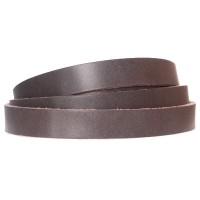 Lederband, 10 x 2 mm, Länge 1 m, grau