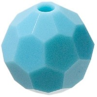 Swarovski Elements, rund, 8 mm, turquoise