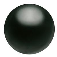 Preciosa Nacre Pearl Round Maxima, 6 mm, crystal magic black