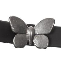 Screws Oberteil, Schmetterling, 15 x 22,5 mm, versilbert