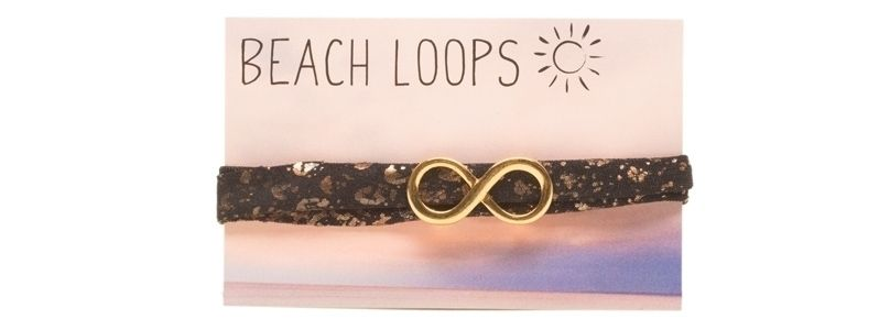 Beach Loop Infinity Vergoldet