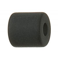 Polaris Walze, 6 x 6 mm, schwarz