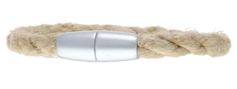 Segeltau Armband Magnetverschluss Hanf