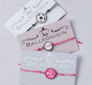 Glücksarmbänder mit Fußballsprüchen