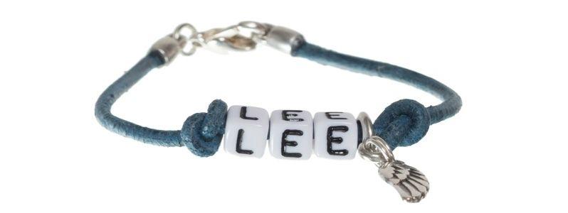 Buchstabenarmband Lee