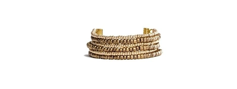 Goldschöne Armbänder Bronze