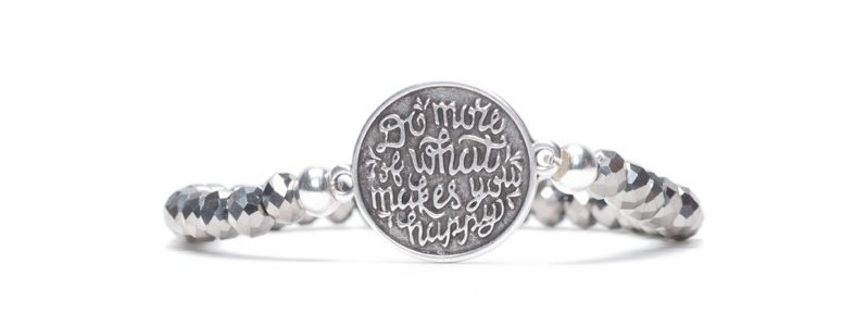 """Armband """"Do what makes you happy"""""""