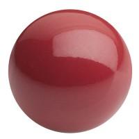 Preciosa Nacre Pearl Round Maxima, 4 mm, crystal cranberry