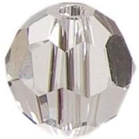 Swarovski Elements, rund, 6 mm, crystal