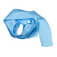 Lycra-Band, Breite 30 mm, Länge 1 m, dehnbar, hellblau