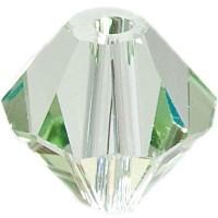 Swarovski Elements Bicone, 6 mm, chrysolite