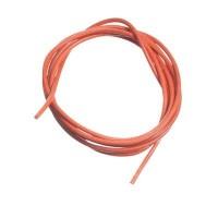 Lederband, 1 bis 1,5 mm, Länge 1 m, orange