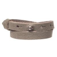 Craft Lederarmband für Sliderperlen, Breite 10 mm, Länge 39 - 40 cm, forrest