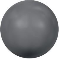Swarovski Crystal Pearl, rund, 8 mm, dark grey