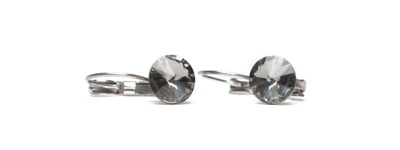 Ohrhänger Rivoli Black Diamond