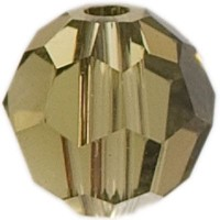 Swarovski Elements, rund, 8 mm, khaki