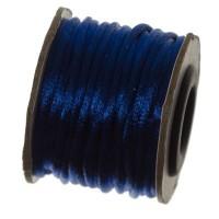 Makramee-Band, Durchmesser 2 mm, 10 Meter-Rolle, dunkelblau