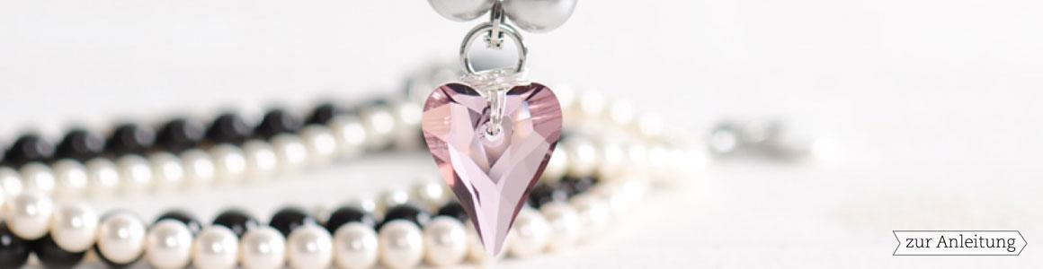 Swarovski Elements Wild Heart Pendant 27 mm