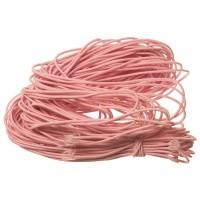 Gummikordel, Durchmesser ca. 1,0 mm, Länge 20 m, pink