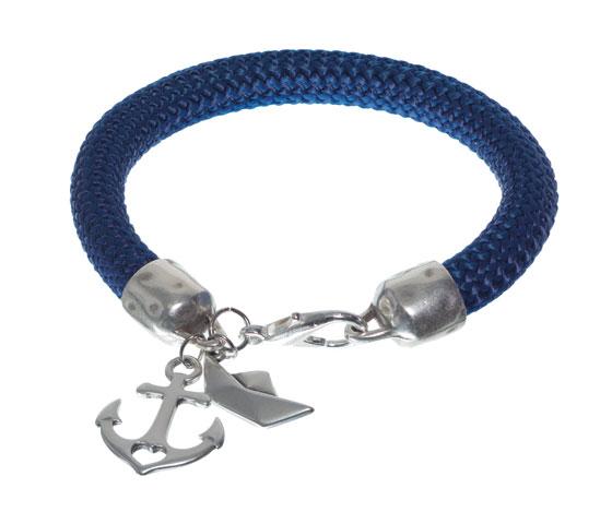 Armband mit dickem Segeltau und Anhängern Schritt 7