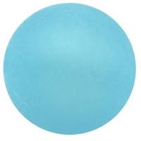 Polaris-Perle, 6 mm, rund, hellblau