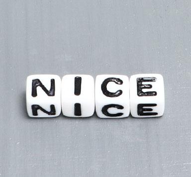 Kunststoffperlen Buchstaben Würfel