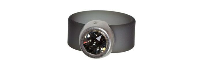 Band-Ring Black Diamond