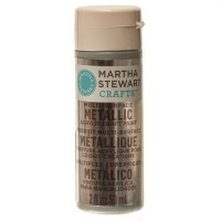 Martha Stewart Multi Surface Acryl-Farbe, sterling, 59 ml