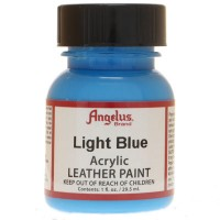 Angelus Lederfarbe Hellblau, Inhalt: 29,5 ml