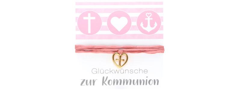 Armband oder Kette zur Kommunion Kreuz