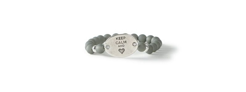 Polarisarmband Keep calm