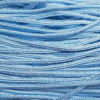 Segelseil, Durchmesser 2 mm, 10 Meter, hellblau