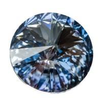 Swarovski Rivoli (1122), 14 mm, crystal blue shade