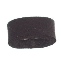 Craft Lederband Schlaufe, 16 mm x 8 mm, Coffee