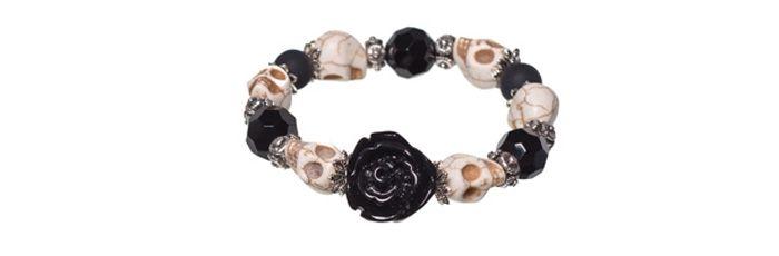 Armband Black Rose