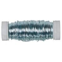 Modellierdraht Fancy Wire 0,50 mm, 50 g (ca. 25 m), eisblau