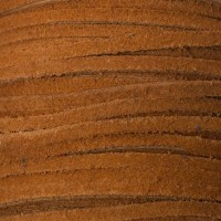 Velourlederband, 2 x 3,2 mm, Länge 1 m, hellbraun
