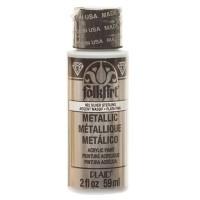 Folk Art Metallic Acryl-Farbe, Sterling Silver, 59 ml